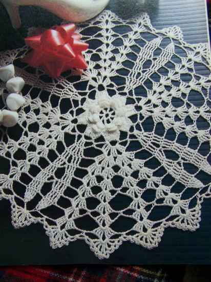 Vintage 1980's Decorative Crochet Pattern # 11 Magazine 29 Crocheting Patterns