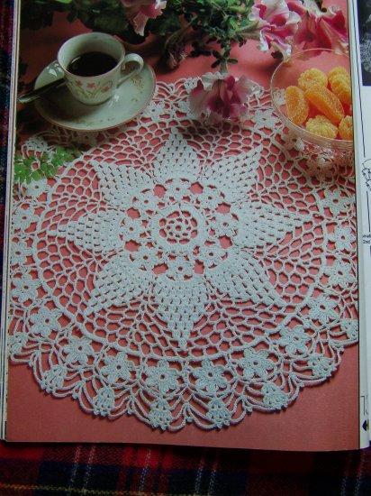 Vintage 1988 Decorative Crochet Back Issue Pattern Magazine # 5 Crocheting Patterns