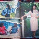 Vintage 1980's Women's Household Crochet Pattern Magazine Thread Crocheting Patterns