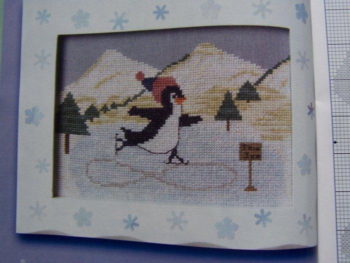 February 2006 The Cross Stitch Stitcher Pattern Book Winter Valentines