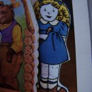 1991 Storybook Characters Goldilocks And The Three Bears Dolls Embroidery Sewing Patterns