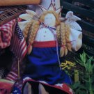 Winged Patriotic Liberty Angel Doll Sewing Needlecraft Pattern