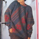 USA 1 Cent S&H Womens Fashions Knitting Pattern Pullover Sweater