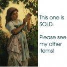 USA 1 Cent S&H Filet Crochet Vintage Pattern Starry Cafe Curtains