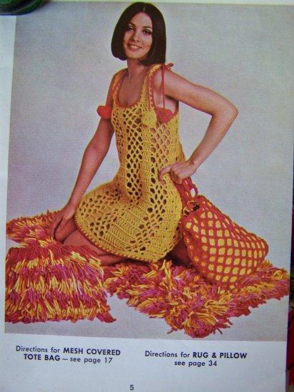 USA 1 Cent S&H Vintage 60's 70's Knitting Crochet Patterns Book