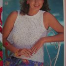USA 1 Cent S&H Woman's Fisherman's Rib Knit Tank Top Knitting Pattern