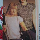 USA 1 Cent S&H Vintage Knit Ladies Summer or Evening Top Knitting Pattern