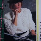 1 Cent US S&H Vintage 80's Spring Sweater Knitting Pattern S M L XL