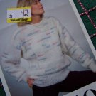 Vintage Selection Knitting Pattern Lady's Sweater Sizes Bust 36 38 40 42 44