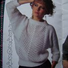 1980's Vintage Beehive Hand Easy Knitting Pattern Womens Book Pullovers Vest Dolman Sweaters