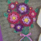 US 1 Cent S&H Vintage Hand Crocheted Applique Flowers Pattern Instructions