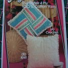USA 1 Cent S&H Knitting & Crochet Instructions Patterns for Pillows