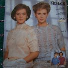 USA 1 Cent S&H Lot of 4 Vintage Mohair Lacy Open Stitch Tops Knitted Patterns