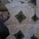 1 Cent USA S&H Crochet Afghan Pattern Plush Throw LW1357 Floral Squares
