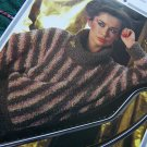 Vintage Hayfield Vanity Fair Knitting Pattern Lady's Cowl Neck Sweater 1704
