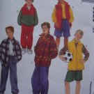 Childrens XS S 3 4 5 6 Jacket Vest Top Pull on Pants Shorts Sewing Pattern 8520