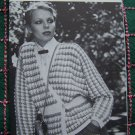 4 Vintage 70's Hippie Wrap Sweaters 2 Knitting 2 Crochet Patterns