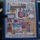 1990 Jeremiah Junction Cross Stitch Leaflet Cluttered Country Kitchen
