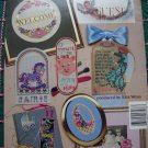 Beginners Perforated Paper Cross Stitch 22 Patterns Book 3576