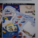 14 Cross Stitch Patterns For Boys Train Airplane Tractor Cars Helicopter +