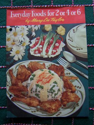 1950's Vintage CookBook Everyday Meals Recipes Country Grandma's Cooking