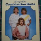 3 Vintage Knitting Patterns XS S M L XL Womens Pullover Sweaters Design Line 10