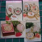 1 Cent USA S&H Cross stitch Patterns Set 25th & 50th Anniversary Set of 4