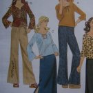 Easy McCall's Sewing Pattern 4180 Girls 12 14 16 Shirts Pants Skirt Wardrobe