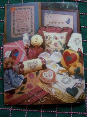 41 Vintage Cross Stitch & Quilting Patterns Book 19