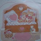19 Vintage Teddy Bears Cross Stitch Embroidery Patterns Book # 66 Gloria & Pat