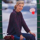 19 Patterns Tahki Tweeds and Friends # 7 Knitting Patterns Book Womens Children Men