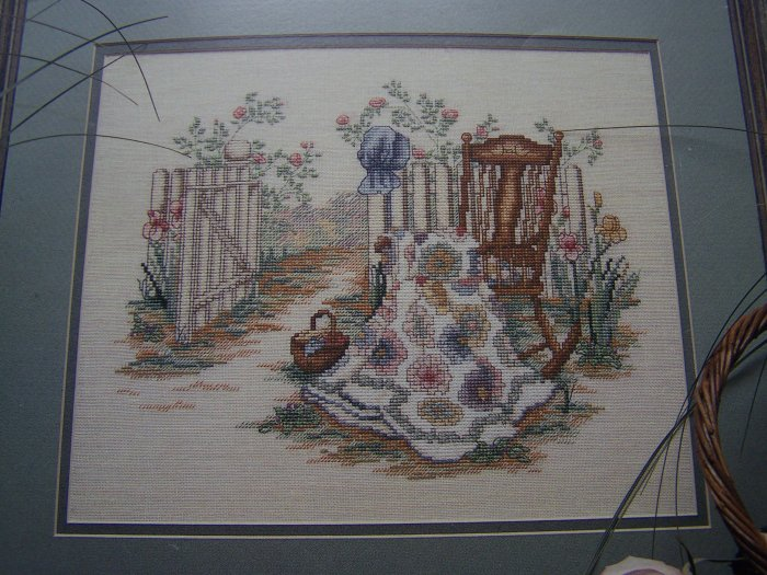 USA 1 Cent S&H Cross Stitch Color Chart Spring Remembered 2 Book 41