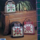 Cross Stitch Patterns Hopscotch Silhouettes Purse Pillows Heart Acorn Quilt Pineapple 287