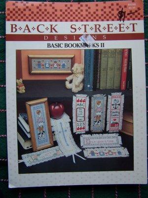 80's Vintage Back Street Basic Bookmarks 2 with 7 Cross Stitch Patterns