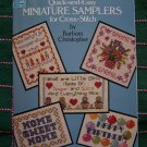 27 Quick & Easy Mini Samplers Cross Stitch Embroidery Patterns