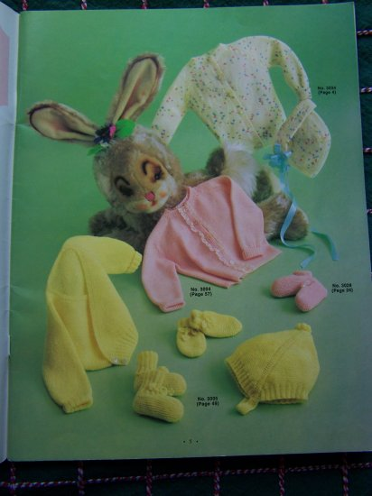 60's Vintage Baby Layette to Toddlers Boys & Girls Knitting Patterns Book 30