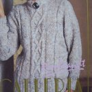 Vintage Rembrandt Galleria Womens Knitting Pattern Pullover Sweater in Fancy Stitches