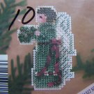 1995 Mill Hill Holiday Sylk Angels Glass Bead Kit MHAS 12 Silver Moon Angel
