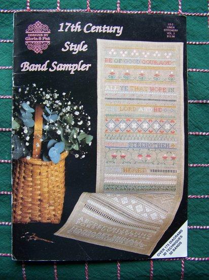 1992 Gloria & Pat 17th Century Style Band Sampler 175 Diagrams 50 Band Patterns 30 Tech
