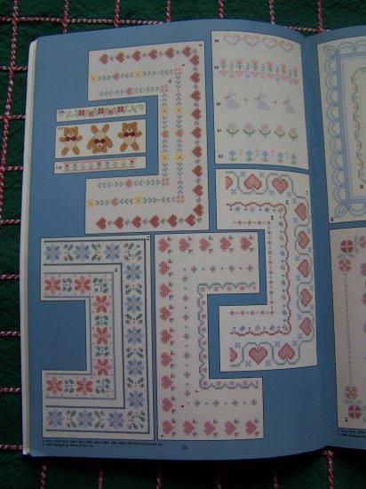 Vintage Hallmark Cards Cross Stitch Graphs Designer Borders Gloria & Pat Book 64