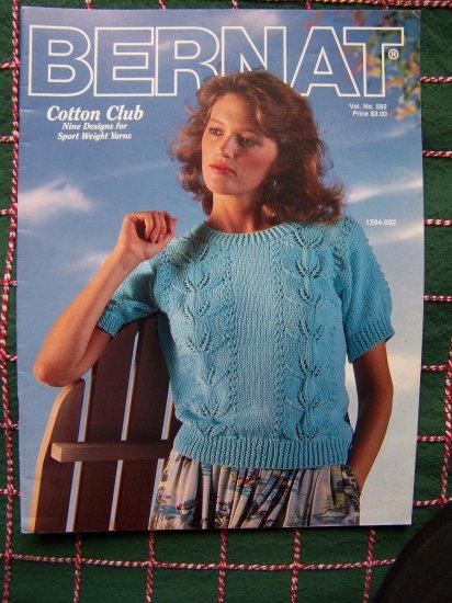 Retro Bernet Misses Vintage Summer Tops Knitting & Crochet Patterns Book 592