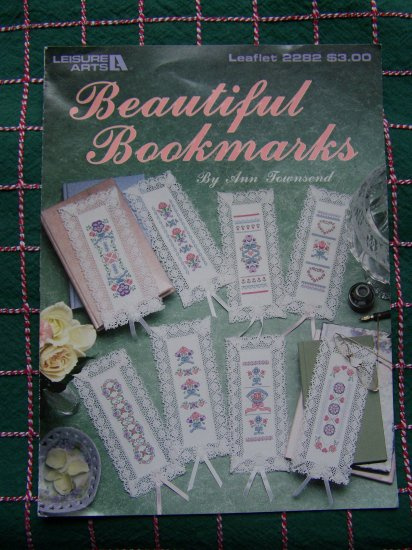 8 Lacy Edge Fancy Bookmarks Counted Cross Stitch Bookmarks Patterns