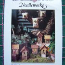 1 Cent USA S&H Embroidery Patterns Country Ornaments & Bird House Cinnamon Heart