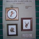 USA 1 Cent S&H Wildlife Sampler Cross stitch Patterns Country Deer Mustang Horse Grizzly Bear