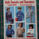 1 Cent USA S&H Retro Children's Cross Stitch Patterns Decorate Shirts Sweaters Sweats