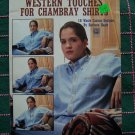 USA 1 CENT S&H Western Aztec Cross Stitch Waste Canvas Patterns for Shirts 2183