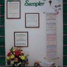 1 Cent S&H USA Vintage Needlepoint Patterns A Thoughtful Sampler 22