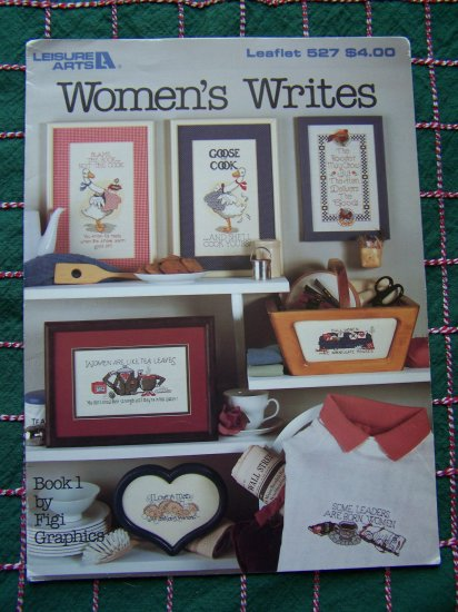 9 Vintage Cross Stitch Embroidery Patterns Womens Writes Sayings Samplers