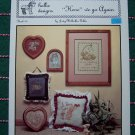 Bunny Rabbit 5 Vintage Hollie Designs Cross Stitch Patterns Hare We Go Again Book 30
