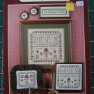 USA 1 Cent S&H  Friendship Sampler & Pillow Cross Stitch Embroidery Pattern Charts # 5